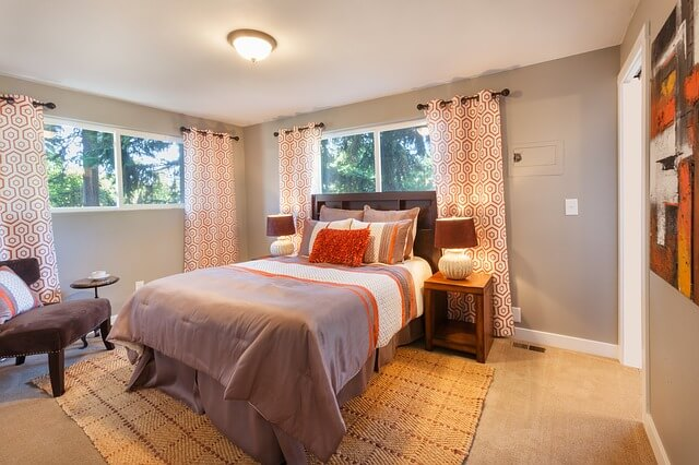 bed room Curtains